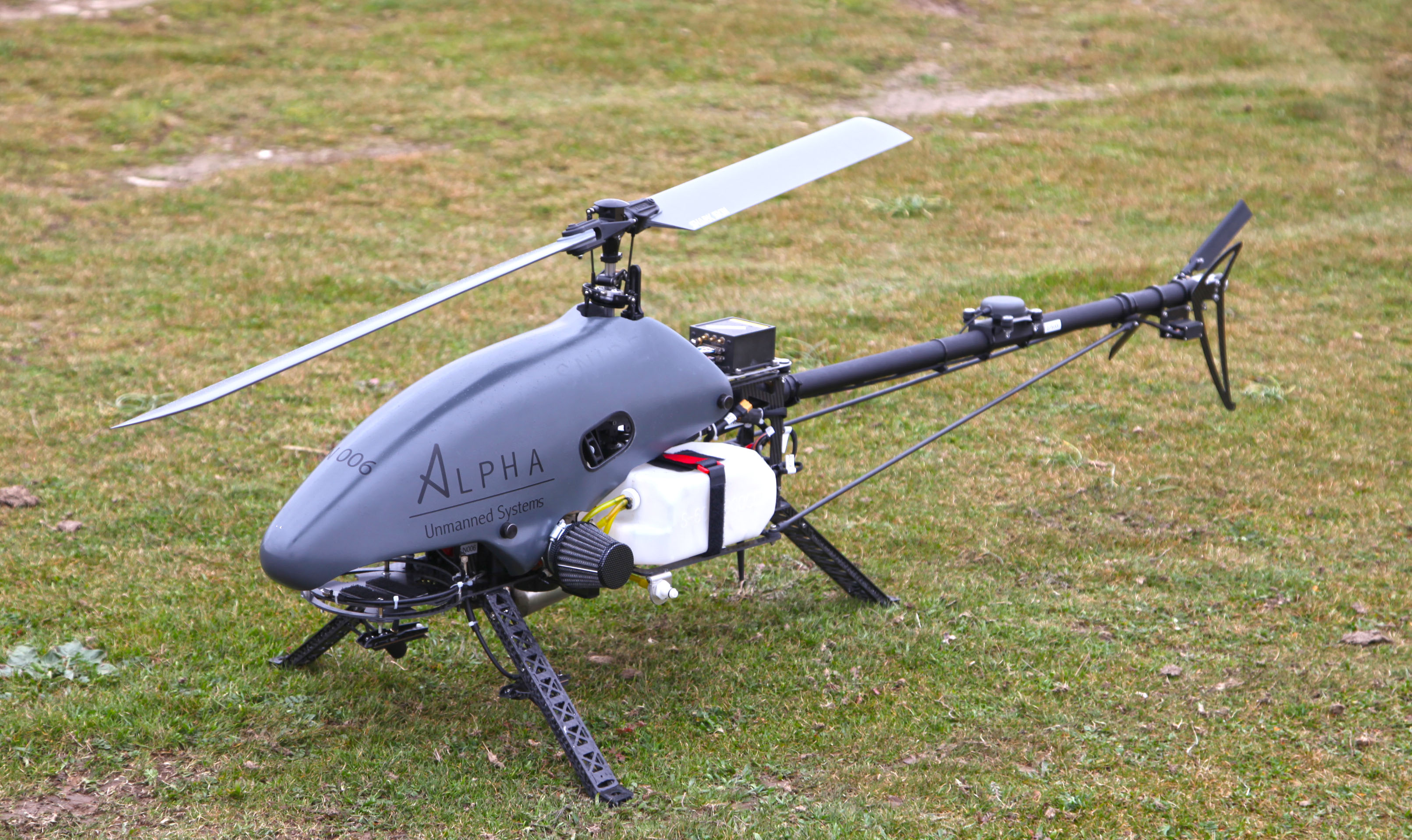 Elicottero Drone : Flight control for helicopters uav navigation