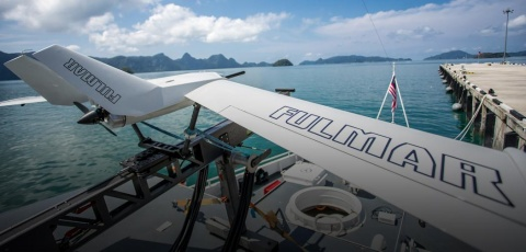 Thales Fulmar UAV Sea Operation