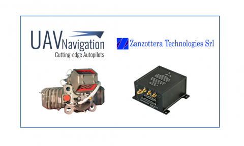 UAV Navigation and Zanzottera engines