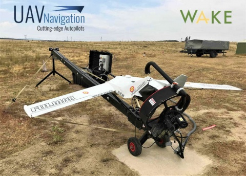 Wake Engineering platform FULMAR chooses UAV Navigation autopilots
